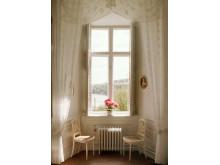 Tyresö slott, interiör fönster, foto Peter Segemark, Nordiska museet