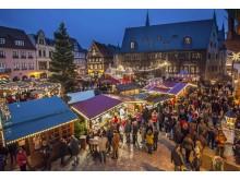 Quedlinburgs markedsplass rammer julemarkedet inn