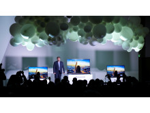 Fabrice Estornel launches 2015 Viera TV Line up at Panasonic Convention