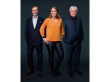 TV3s EM studio desember 2018: Christian Ramberg, Karoline Dyhre Breivang, Frode Kyvåg