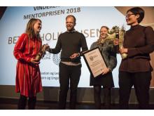 Mentorprisen: Aarhus Kommune, Organisation og ledelse i børn og unge