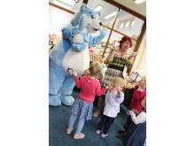 Bookstart Bear in Heywood Library