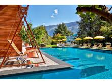 Erholung und Entspannung am Feldhof Pool