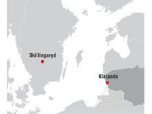 Proton Engineering Lithuania ligger i Klaipeda.