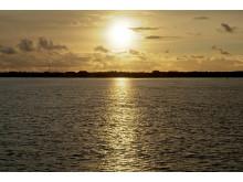 Solnedgang fra Fanø