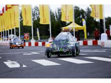 Aalborg Universitets nye 3D-printede Urban Concept-bil på banen i Rotterdam
