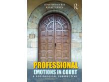 Bokomslag. Professional emotions in court.