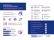 Hands matter in creating a healthier world