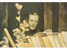 """Lucas Rahn, """"Författarporträtt"""", 2012"""