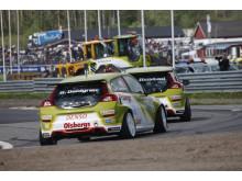 Swecon och Volvo i STCC