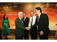 PIDSCA MD Tanase with Dr Tony Tan Keng Yam, President of the Republic of Singapore