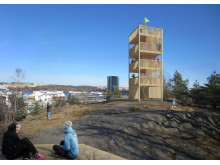 Utsiktstorn, Årstabergsparken, Årstadal