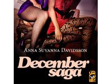Omslag Decembersaga Anna Suvanna Davidsson Leopard förlag 2018