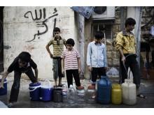 Rent vatten till 10 miljoner människor i Syrien