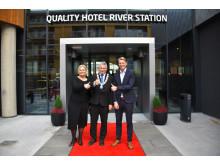 Quality Hotel River Station åpner endelig dørene