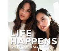 Bik Bok Podcast Life Happens - Tsutsumi og Alexandra