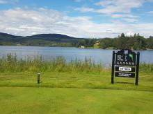 Oslo Golfklubb Hull 16. 1.juli 2019 m bogstad gård i bakgrunnen