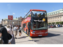 Stockholm Red Buses