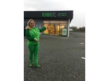 Butikksjef Grete Lill Thorsen er klar for åpning!