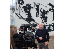 Bob Redman, Chair of First Impressions, filmed for Strictly Come Dancing, the final