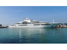 High-res image - Coppercoat - 122M Mega Yacht Anti-fouled with Coppercoat® Superyacht