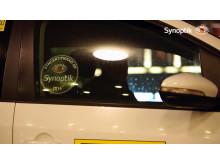 Syncertifierade av Synoptik - dekal till bilarna
