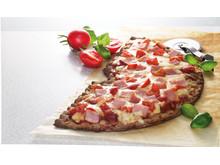 Leksands knäckepizza - skinka