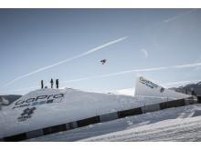 Norendal landet en cab 900 på sistehoppet - et triks ingen andre kunne måle seg med i konkurransen. Foto: Snowboardforbundet