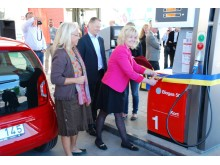 OKQ8 inviger ny station för fordonsgas i Haninge