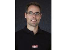 Mikael Gefvert, ny produktchef Miele inbyggnadsprodukter för kök
