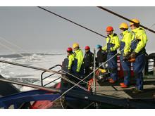 En av Örjan Gustafssons tidigare forskningsexpeditioner till Arktis.