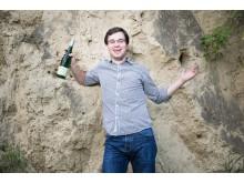 Franz Leth Jr, vinmakare på Weingut Leth i Österrike. Foto: Anna Stöcher