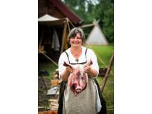 Grisen var en vigtig del af vikingetidens køkken.