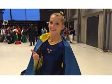 Lina Sjöberg, VM-final DMT 2015