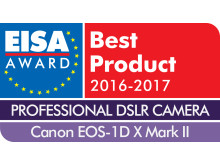 EUROPEAN PROFESSIONAL DSLR CAMERA 2016-2017 - Canon EOS-1D X Mark II