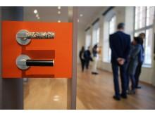 """Türgriffe in der Ausstellung """"begreifbare Baukunst"""" im GRASSI Museum für Angewandte Kunst Leipzig"""