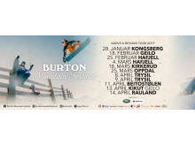 Burton Mountain Festival Above & Beyond Tour 2017