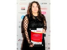 Dental Nurse, Gabriela Ferlusca, wins the Dentistry Awards category for Best Nurse in the South East
