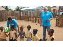 Skolebesøk på Madagaskar