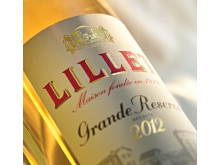 BTL - LILLET GRANDE RESERVE LABEL CLOSE UP LR
