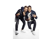Samir och Victor uppträder på Kungsbacka torg den 10 juni