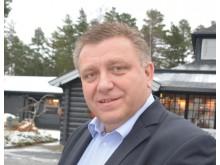 BEKYMRET: - Jeg er bekymret for at de høye dieselprisene vil være konkurransevridende for våre medlemsbedrifter, sier Geir A. Mo som er direktør i NLF.