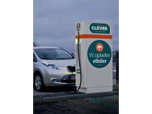 Öresundskraft och CLEVER i samarbete om elbilsladdning 2