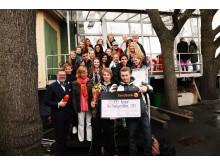 Vinnare av Årets Friendsprestation 2011 kategori åk 7-9: Hultsbergsskolan, Karlstad