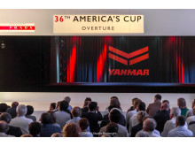 Image - YANMAR - YANMAR's role as 'Official Marine Supplier' is highlighted at the America's Cup press conference