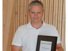 Ole Straumsheim, daglig leder i Straumsheim Glass og Fasade AS