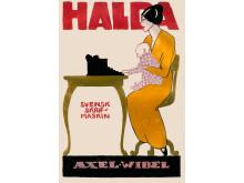 Halda Svensk skrifmaskin