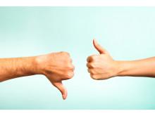 Gapet mellan de som är positivt respektive negativt inställda till reklam har aldrig varit större