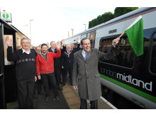 Hartlebury Residents Celebrate Best Rail Service in 50 Years