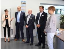 Brandenburgs Wissenschaftsministerin Dr. Martina Münch am 6. Juli 2016 zu Arbeitsbesuch an der Technischen Hochschule Wildau